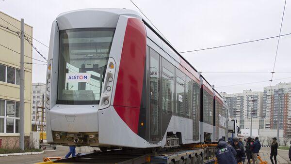Alstom yangi avlod tramvayi - Sputnik Oʻzbekiston