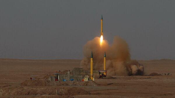 Эронда баллистик ракета учирилиши - Sputnik Ўзбекистон