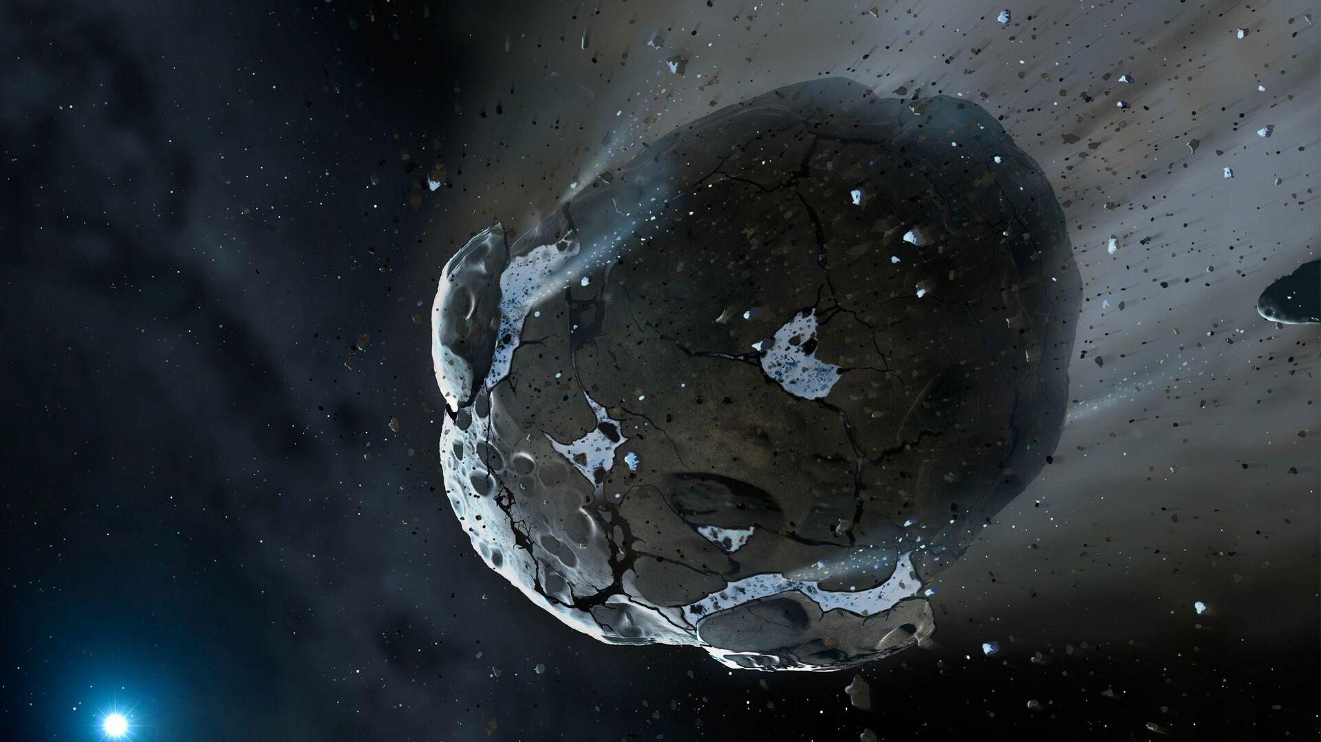 Астероид. Архивное фото - Sputnik Узбекистан, 1920, 17.08.2021