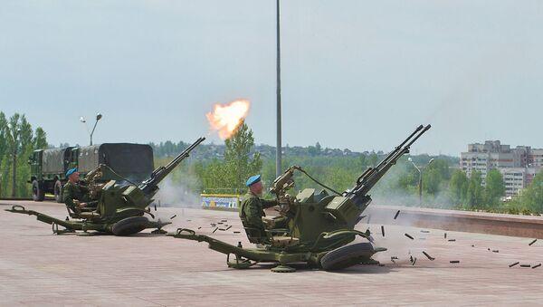 ЗУ-23-2, зенит ўқотар мосламаси - Sputnik Ўзбекистон