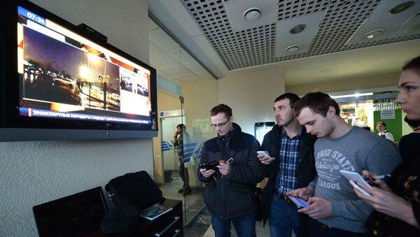 Rostov aeroporti. - Sputnik Oʻzbekiston