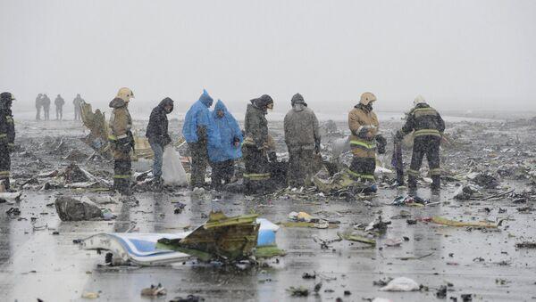 Boeing-737-800 Rostov-Don aeroportida qoʻnish vaqtida halokatga uchradi - Sputnik Oʻzbekiston