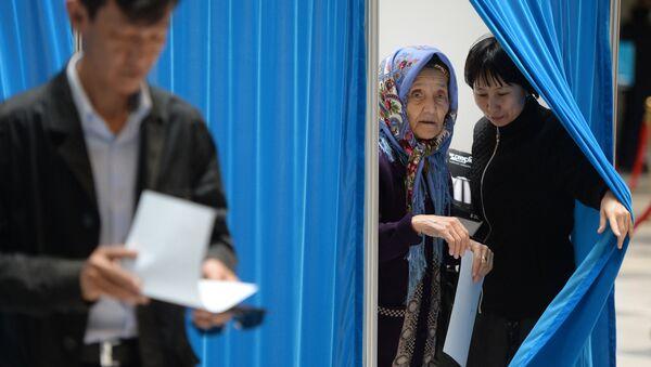 Выборы в Республике Казахстан - Sputnik Узбекистан