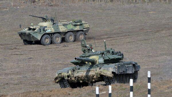 Учения мотострелковых войск - Sputnik Узбекистан