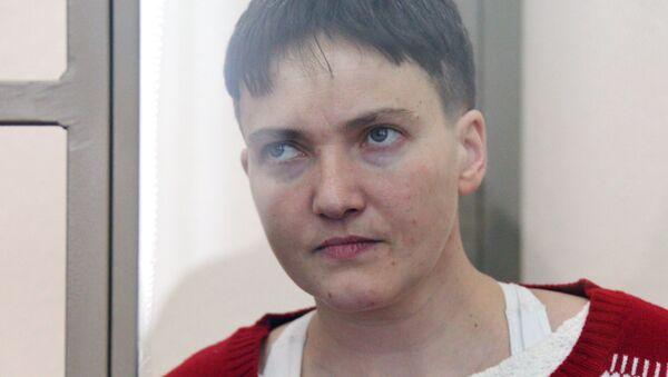 Заседание суда по делу гражданки Украины Надежды Савченко - Sputnik Ўзбекистон