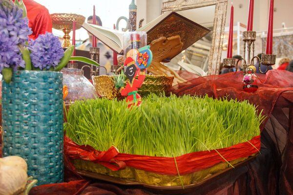 Проращенная пшеница - один из символов Навруза - Sputnik Узбекистан