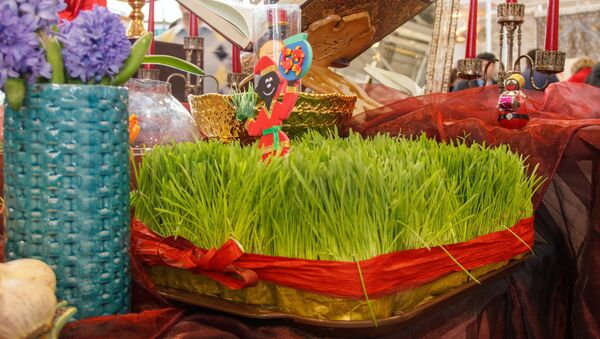 Проращенная пшеница - один из символов Навруза - Sputnik Ўзбекистон