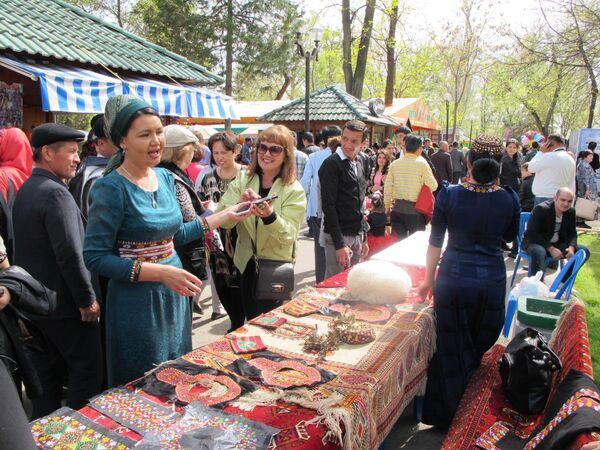 Ярмарка на праздновании Навруза - Sputnik Узбекистан