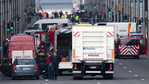Ситуация в Брюсселе после серии взрывов - Sputnik Узбекистан