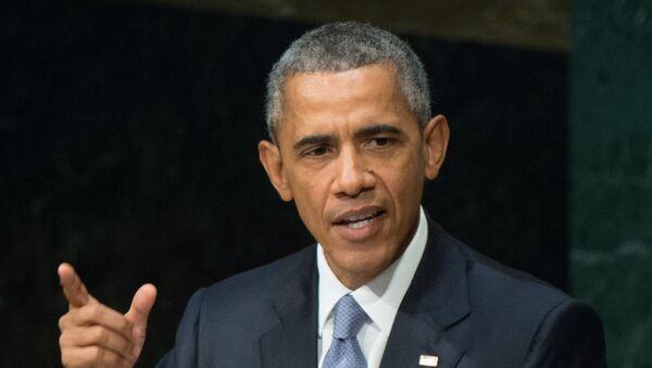 АҚШ президенти Барак Обама - Sputnik Ўзбекистон