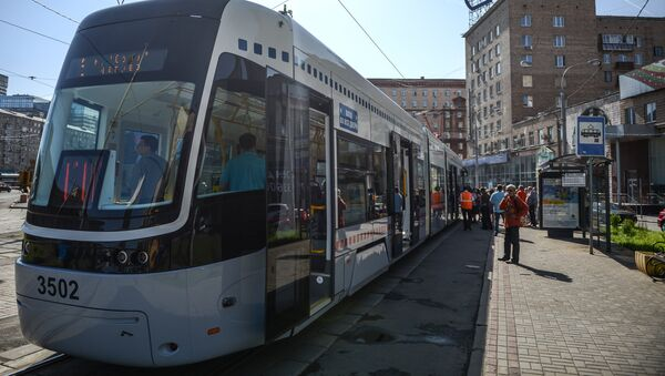 Трамвай PESA/УВЗ 71-414 - Sputnik Ўзбекистон