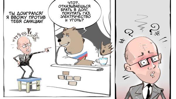 Санкционный взрывпакет - Sputnik Узбекистан