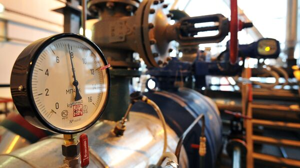 Машинный зал тепловой станции - Sputnik Узбекистан