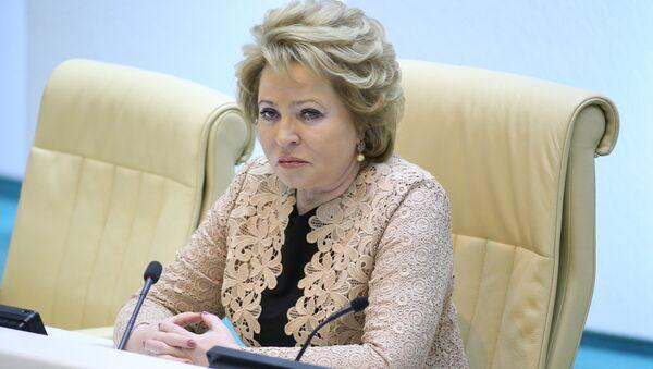 Председатель Совета Федерации РФ Валентина Матвиенко - Sputnik Узбекистан