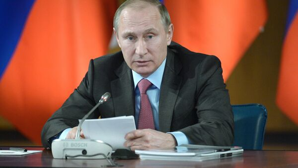 Владимир Путин - Sputnik Ўзбекистон