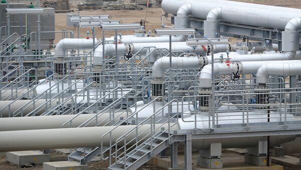 Участок магистрального газопровода - Sputnik Узбекистан