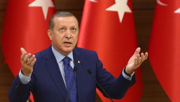 Туркия президенти Ражаб Тойиб Эрдўғон - Sputnik Ўзбекистон