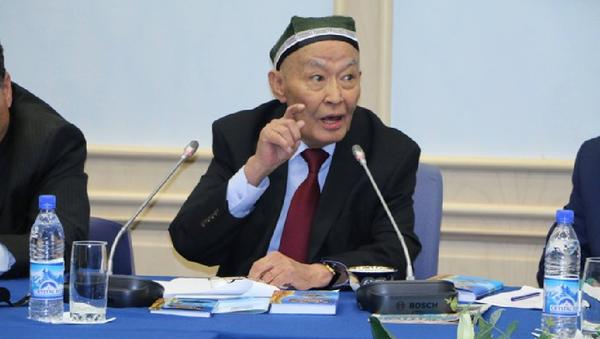 Abdulla Oripov bilan uchrashuv - Sputnik Oʻzbekiston
