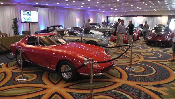 Уникальный Ferrari и Mercedes 1962  на аукционе в США - Sputnik Ўзбекистон