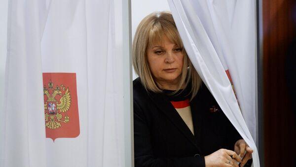 Председатель ЦИК России Элла Памфилова - Sputnik Узбекистан