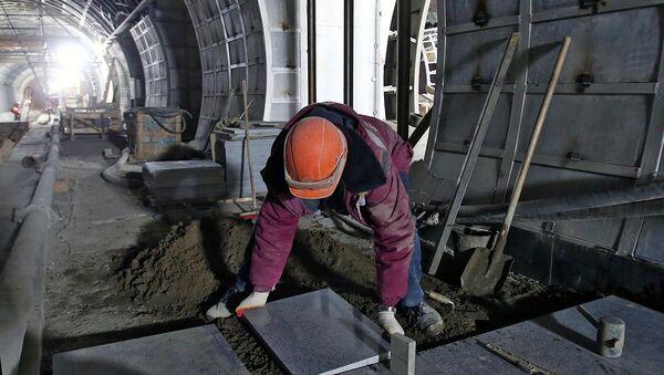 Metroda qurilish ishlari - Sputnik Oʻzbekiston
