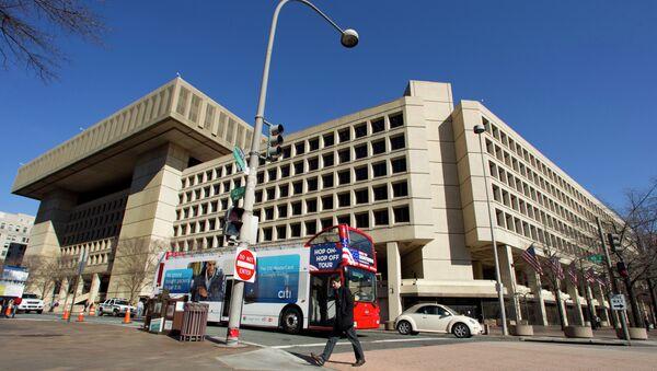 Здание Федерального Бюро Расследований США (ФБР) - Sputnik Ўзбекистон