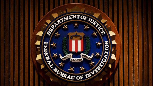 Эмблема Федерального Бюро Расследований США (ФБР) - Sputnik Ўзбекистон