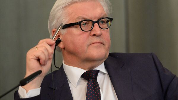 Ministr inostrannыx del Rossii Germanii Frank-Valter Shtaynmayer - Sputnik Oʻzbekiston
