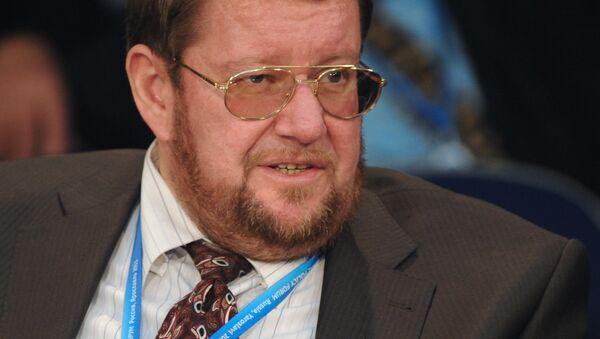 Yevgeniy Satanovskiy - Sputnik Oʻzbekiston