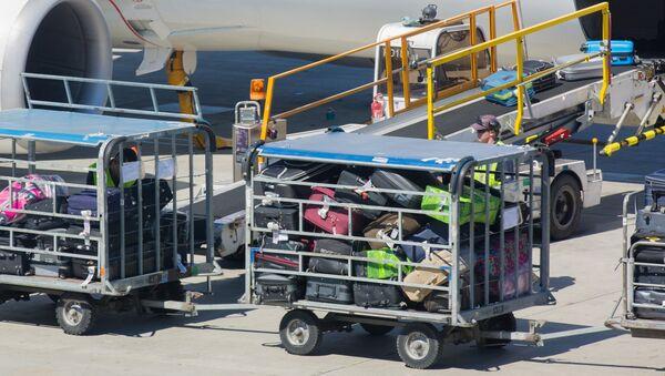 Загрузка багажа на борт самолета - Sputnik Узбекистан