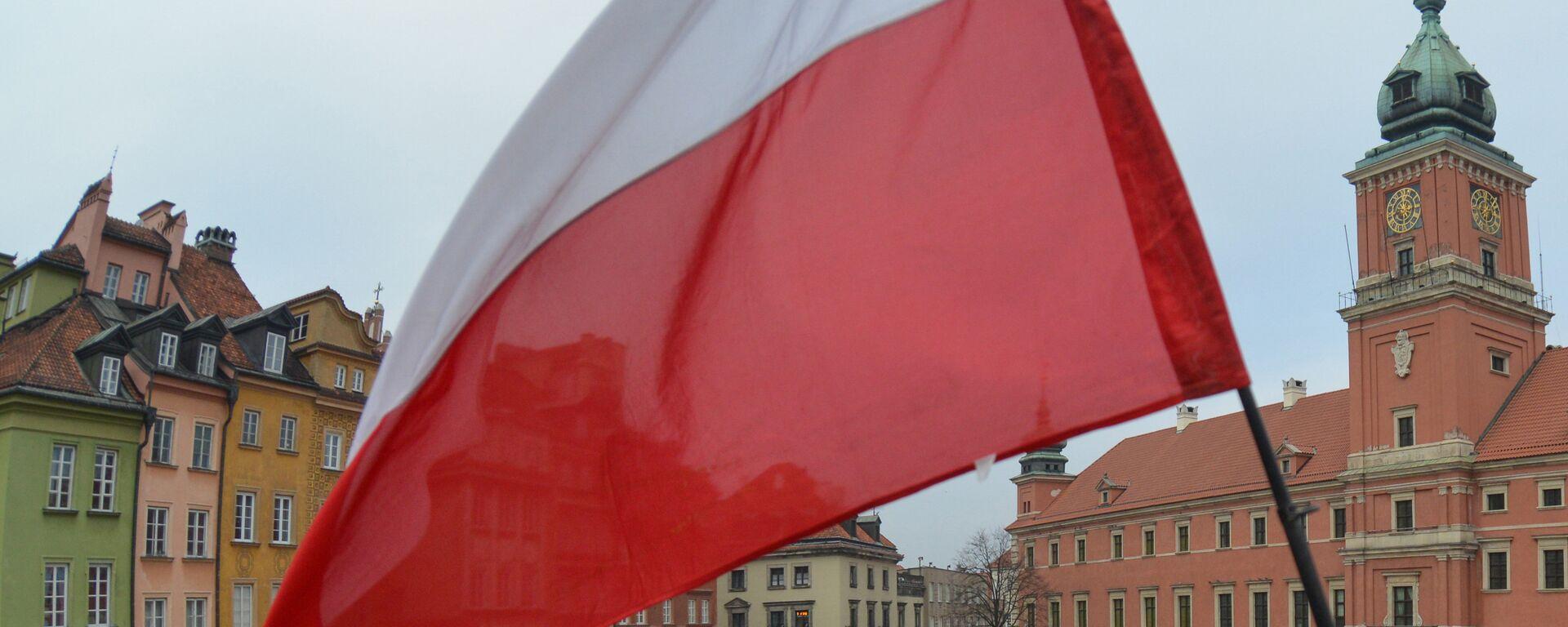 Флаг Польши - Sputnik Ўзбекистон, 1920, 09.08.2021