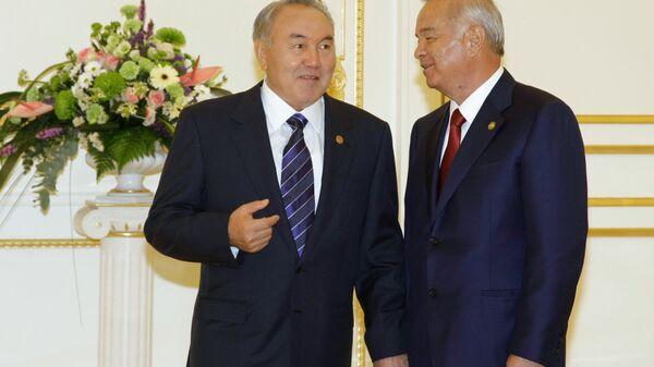 Nursulton Nazarboyev, Islom Karimov - Sputnik Oʻzbekiston