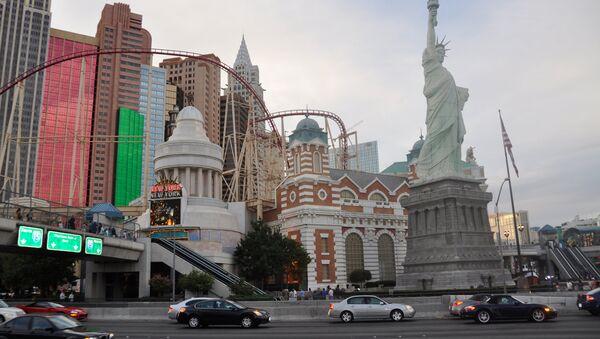 Las Vegas Nevada, otel-kazino Nyu-York-Nyu-York - Sputnik Oʻzbekiston