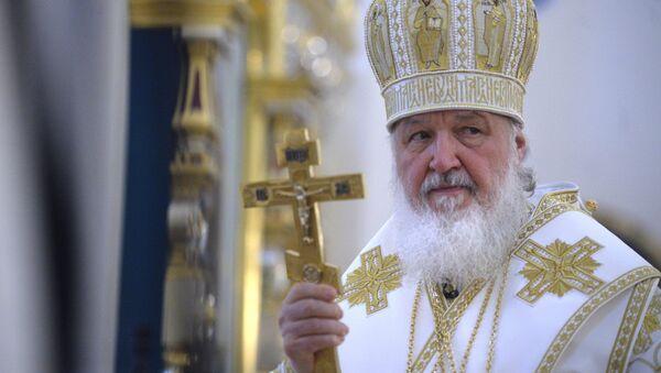 Патриарх Московский и всея Руси Кирилл - Sputnik Узбекистан