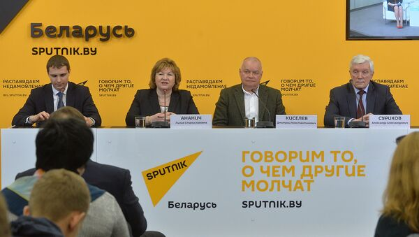 Sputnik Minske multimedia markaz ochdi - Sputnik Oʻzbekiston