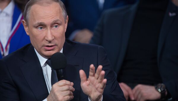 Vladimir Putin - Sputnik Oʻzbekiston