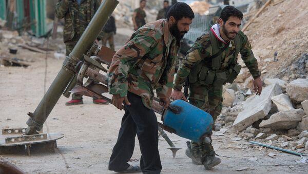 Situatsiya v siriyskom gorode Aleppo - Sputnik Oʻzbekiston