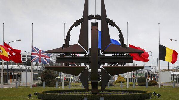 Emblema NATO - Sputnik Oʻzbekiston