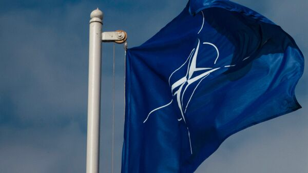 Флаг Организации Североатлантического договора (НАТО) - Sputnik Узбекистан