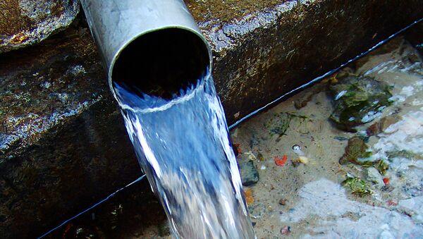 Источник пресной питьевой воды - Sputnik Ўзбекистон