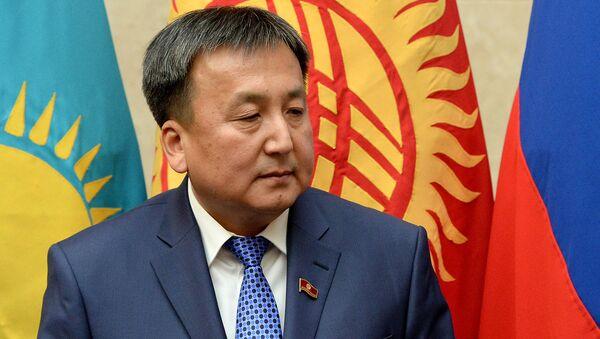 Qirgʻiziston Bosh vaziri Sooronbay Jeenbekov - Sputnik Oʻzbekiston