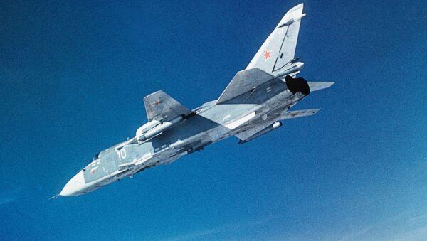 SU-24 bombardimonchi samolyoti - Sputnik Oʻzbekiston