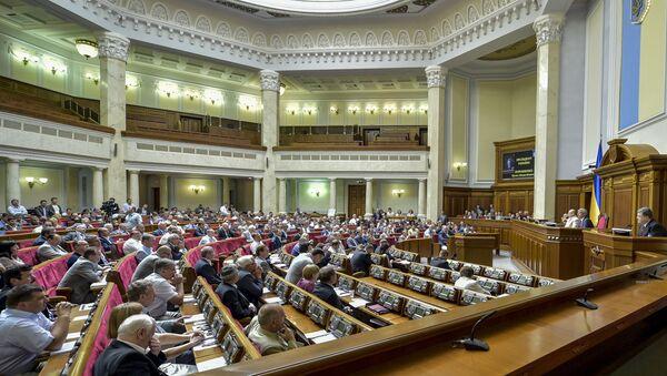 Внеочередное пленарное заседание Верховной Рады Украины - Sputnik Ўзбекистон