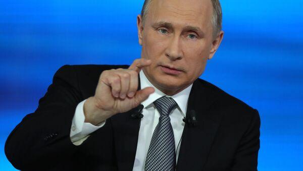 Прямая линия с президентом РФ В. Путиным - Sputnik Ўзбекистон
