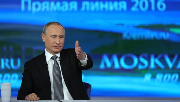 Rossiya prezidenti Vladimir Putin bilan Toʻgʻridan-toʻgʻri muloqot - Sputnik Oʻzbekiston