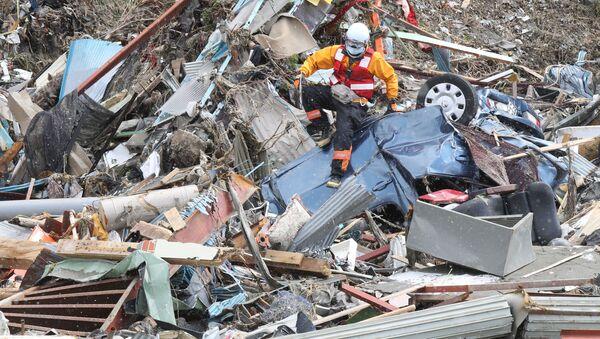 Последствия землетрясения в Японии - Sputnik Узбекистан