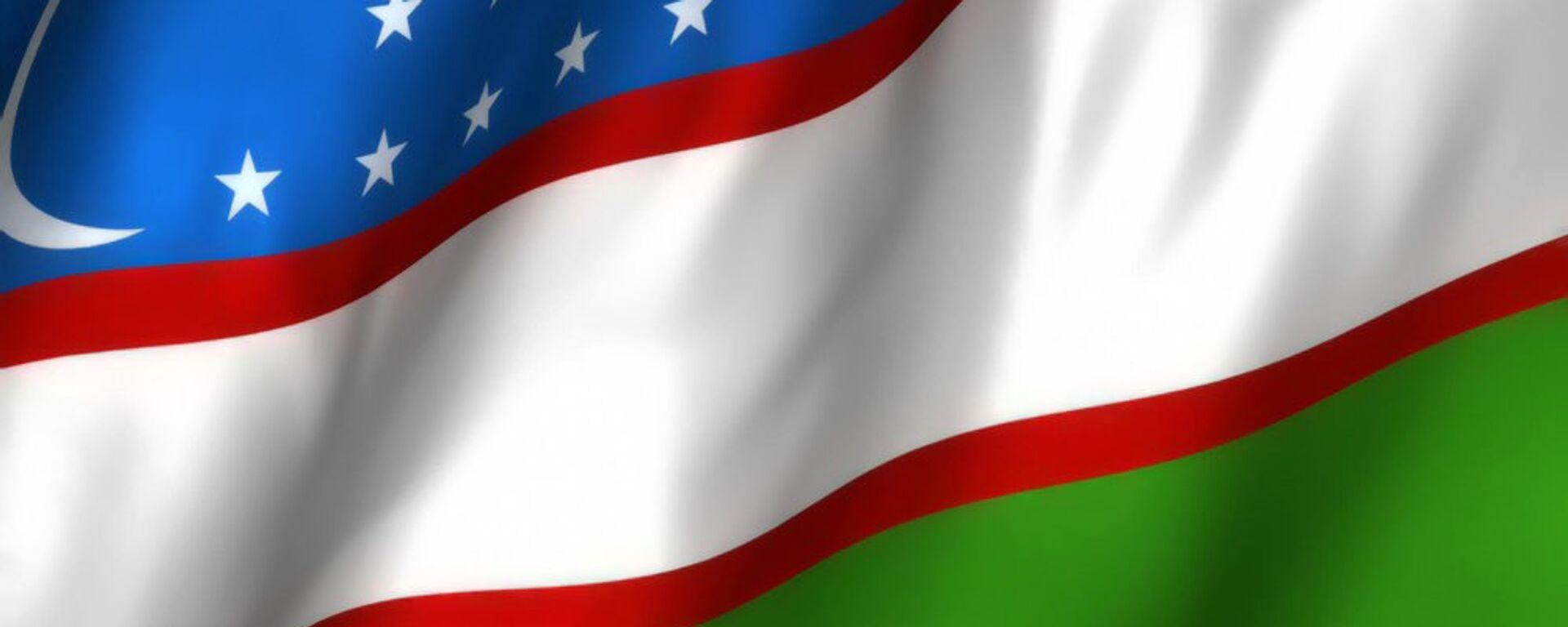 Флаг Республики Узбекистан - Sputnik Узбекистан, 1920, 25.08.2015
