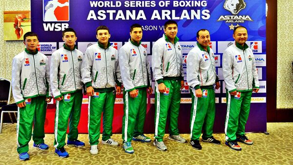 WSB команда Uzbek Tigers - Sputnik Узбекистан
