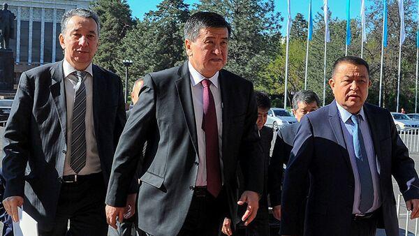 Премьер-министр Сооронбай Жээнбеков - Sputnik Ўзбекистон