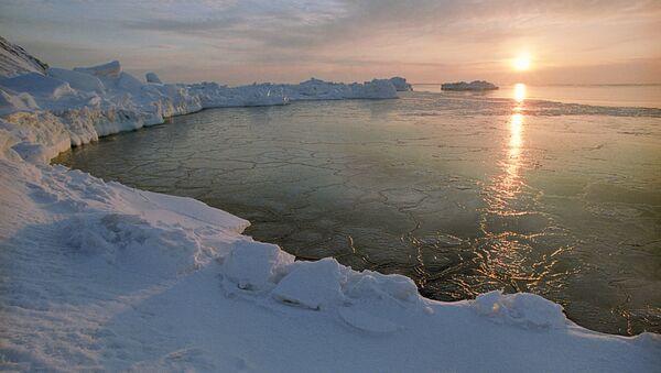 Рассвет в Арктике - Sputnik Ўзбекистон